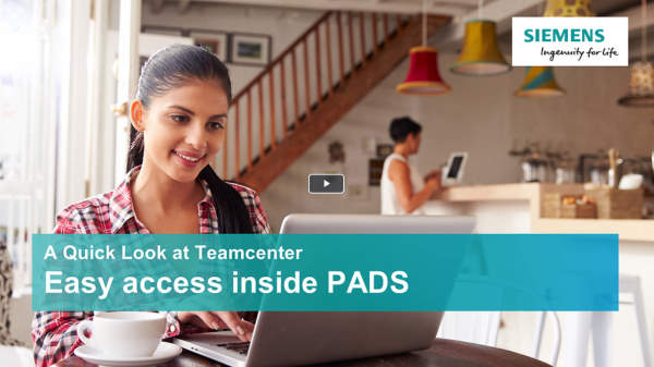 A quick look at Teamcenter - PADS