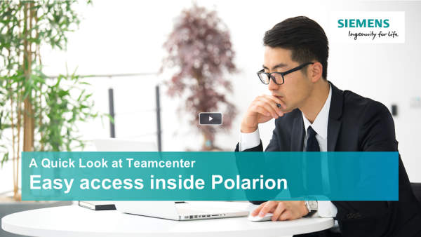 A quick look at Teamcenter - Polarion