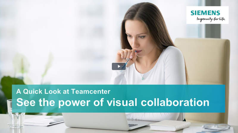 A quick look at Teamcenter - Visual collaboration