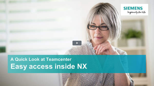 A quick look at Teamcenter - NX