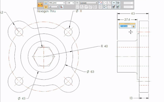 Free 2D CAD Software - Solid Edge 2D Drafting